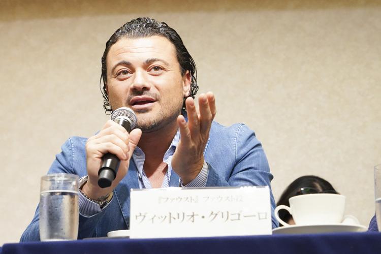 ヴィットリオ・グリゴーロ  photo:Ayano Tomozawa