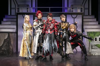 舞台『DARKNESS HEELS~THE LIVE~SHINKA』が開幕へ 石渡真修らキャストコメント&舞台写真が到着