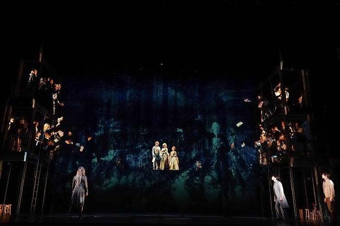 『サンソン -ルイ16世の首を刎ねた男』東京公演より 撮影:田中亜紀