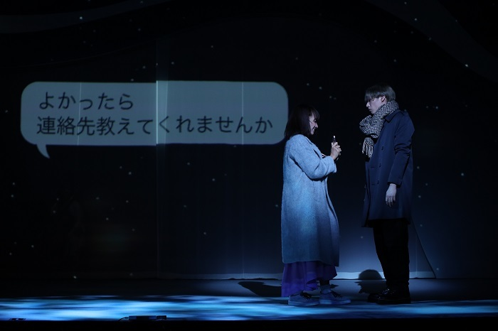 A New Musical 『ゆびさきと恋々』ゲネプロ公演より