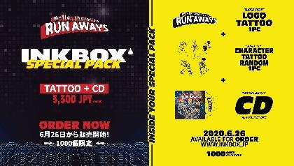 m-flo、2週間で消えるオーガニックタトゥー「Inkbox」と再びコラボ CD付きスペシャルパックを販売