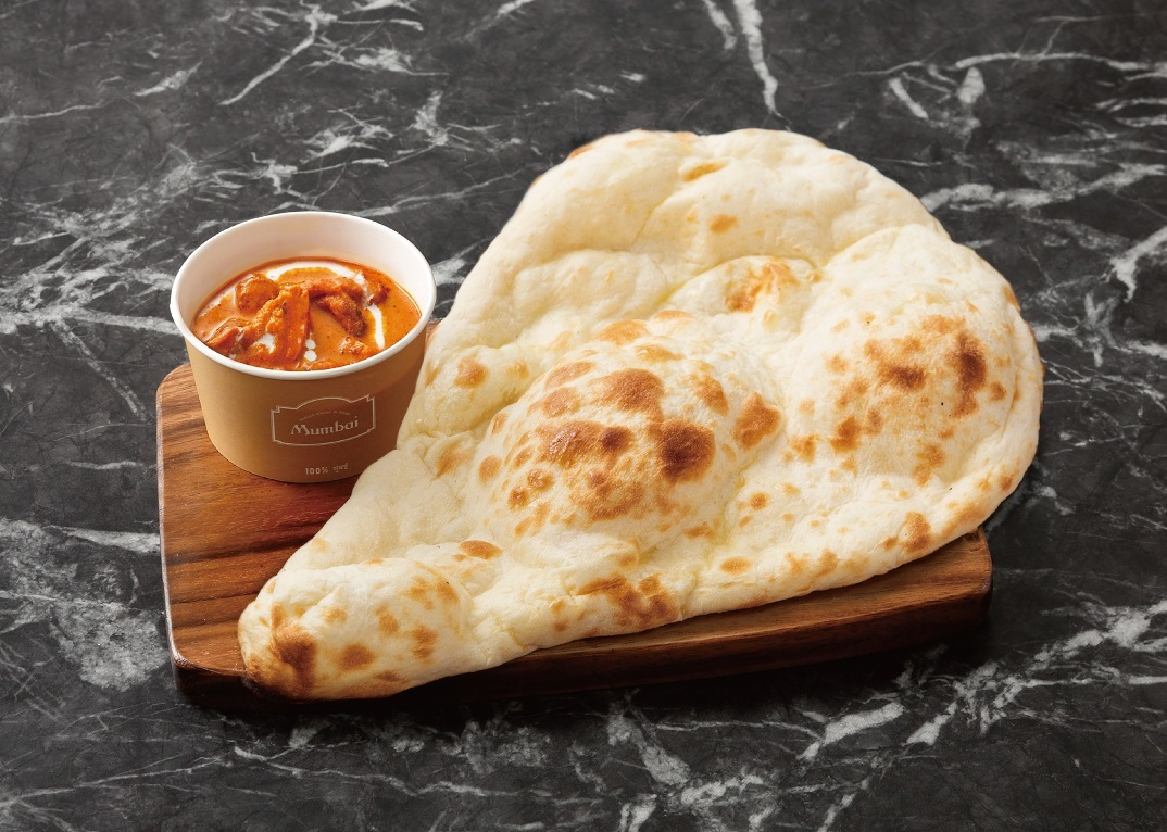 Butter Chicken Curry Naan