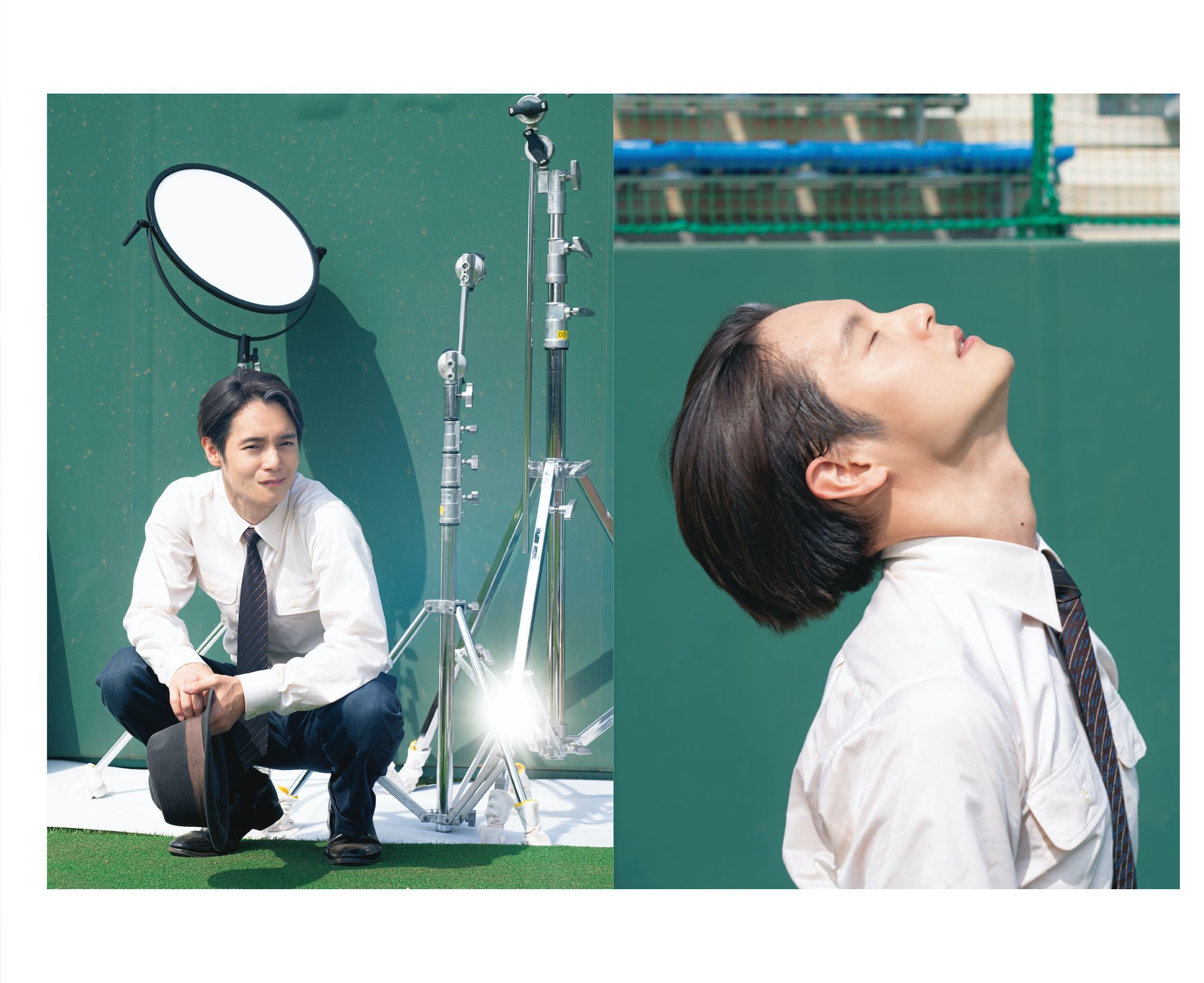 ドキュメンタリーブック『Vreath -Documentary of 窪田正孝 in エール-』初公開収録カット