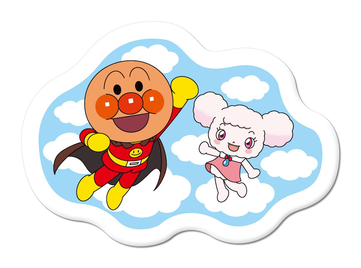 「ふわふわ!雲の国の雲型ティッシュケース」 ©やなせたかし/フレーベル館・TMS・NTV ©やなせたかし/アンパンマン製作委員会2020
