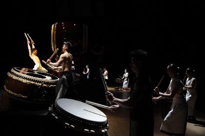 鼓童 新作公演『巡-MEGURU-』の全国ツアーが開幕 新世代の鼓童がスタートした滋賀公演のレポートが到着