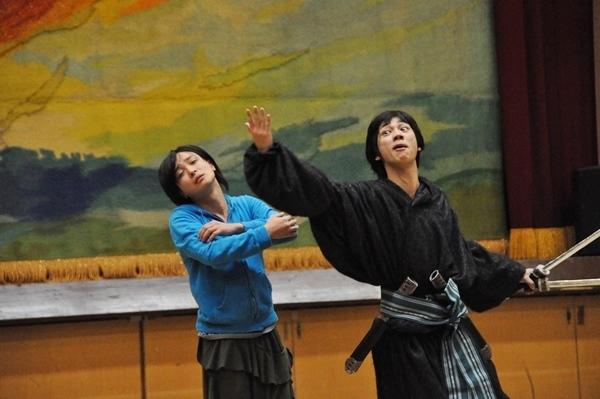 (左から)田渕法明(ブルーシャトル)、三津谷亮(D-BOYS)
