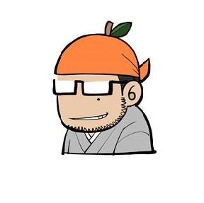 大柿ロクロウ自画像
