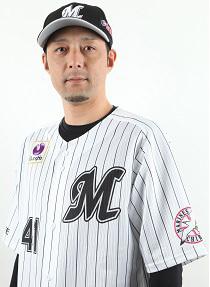 ロッテテレビの公開収録にゲストとして出演する、マリーンズOBの小林宏之さん