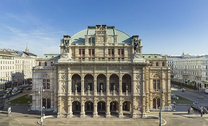 ウィーン国立歌劇場 (C)Wiener Staatsoper/Michael Pöhn