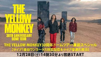 THE YELLOW MONKEY 12月28日ナゴヤドーム公演当日にニコ生特番配信、音漏れ実況も
