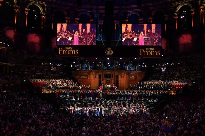 BBC Proms 2018の様子(Last Night of the Promsより) ©BBC/Chris Christodoulou
