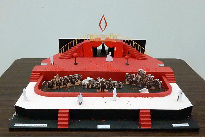 舞台装置模型