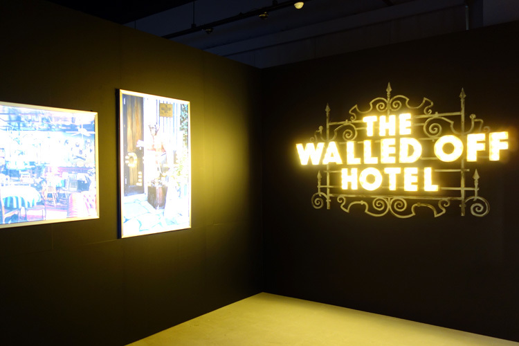 《THE WALLED OFF HOTEL》展示風景