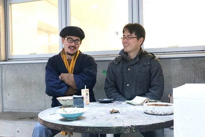 (左から)益山貴司(劇団子供鉅人)、小林欣也。