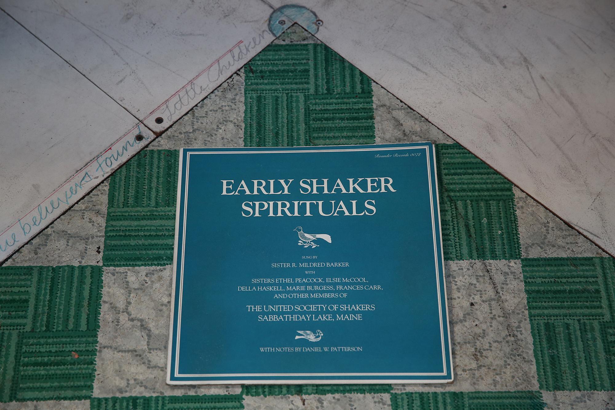Early Shaker Spirituals - Photo by Paula Court