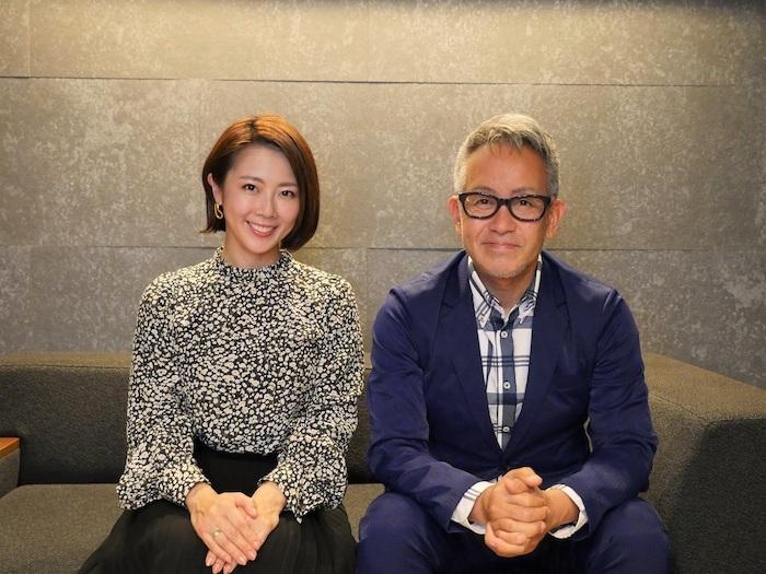 宮本亞門(右)と大和田美帆