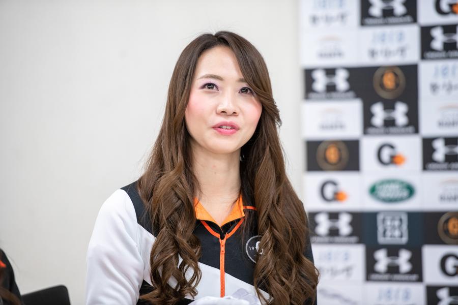 ヴィーナスのリーダとしてチームを牽引する山田ありささん