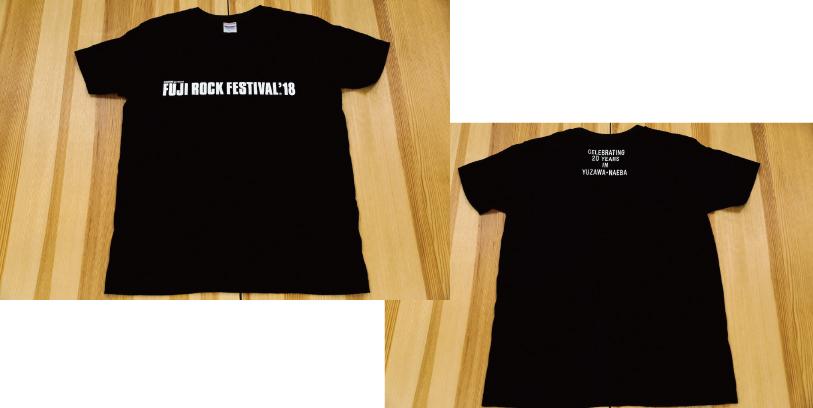 FUJI ROCK'18 オフィシャルグッズ Tシャツ
