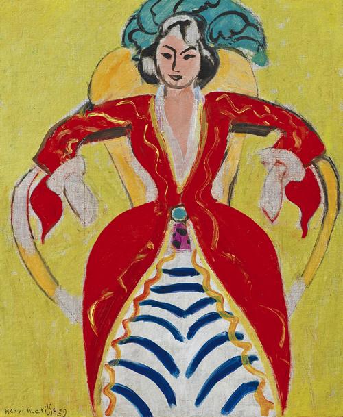 アンリ・マティス《ラ・フランス》1939年 ひろしま美術館蔵