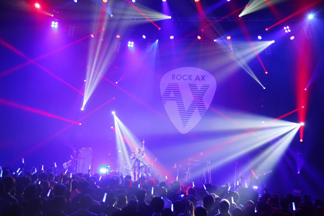 『ROCK AX Vol.2』藍井エイル  PHOTO:山内洋枝