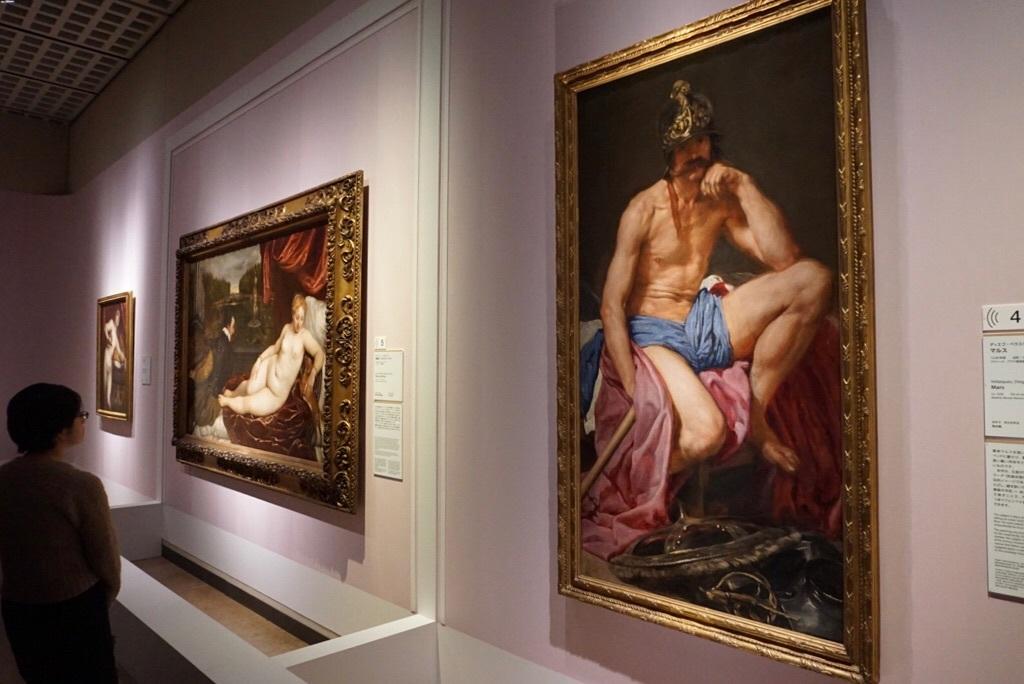 ディエゴ・ベラスケス 《マルス》 1638 年頃 マドリード、プラド美術館蔵