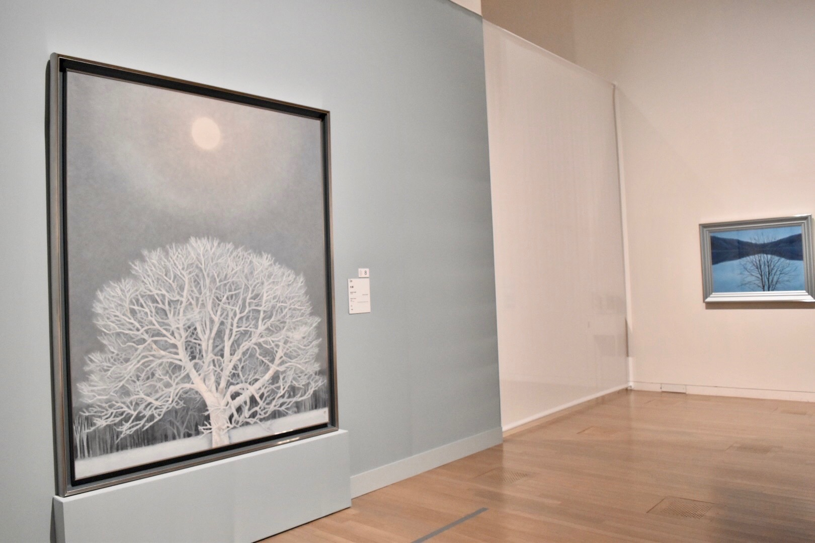 《冬華》 昭和39年 東京国立近代美術館蔵