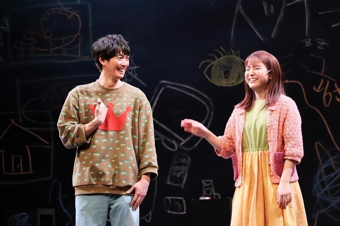 ちなみにゲネプロにはふぉ~ゆ~の福田悠太さんの姿も! 観劇の感想を聞きたいですね。