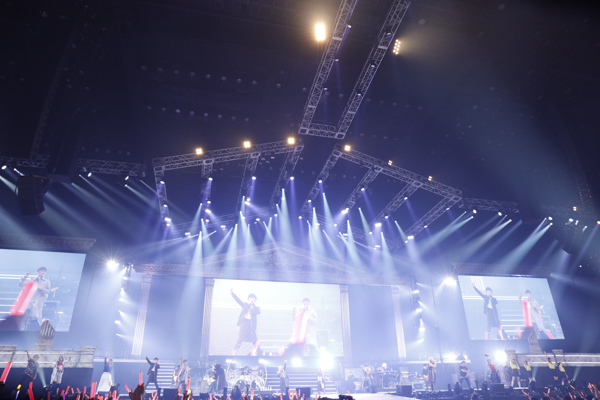 JAM Project with アニサマフレンズ  (C)Animelo Summer Live 2019