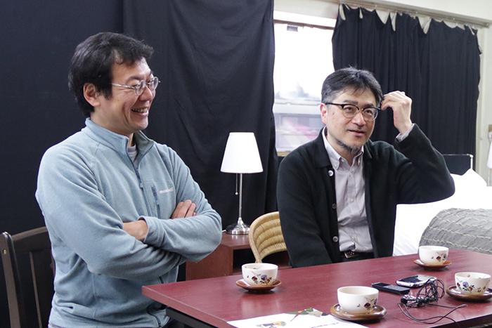 左:山内健司、右:山内ケンジ