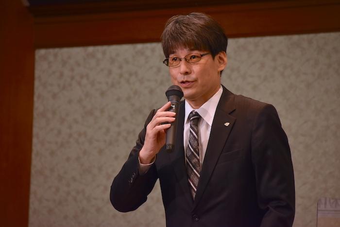 松竹の山根成之・専務取締役
