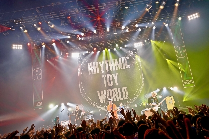 Rhythmic Toy Worldが過去最大の会場・Zepp DiverCityで示したバンドの決意とロマン
