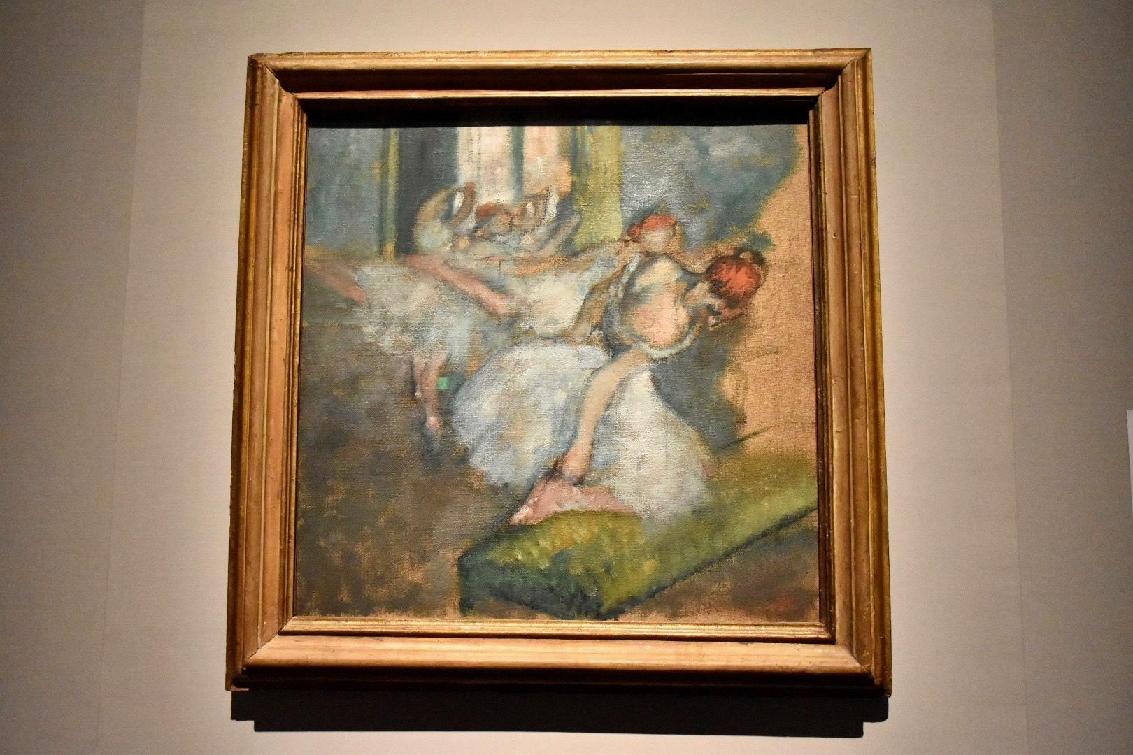 エドガー・ドガ《バレエの踊り子》1890-1900年頃