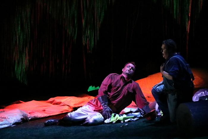 新国立劇場オペラ『ジークフリート』ゲネプロより ファフナー、ジークフリート