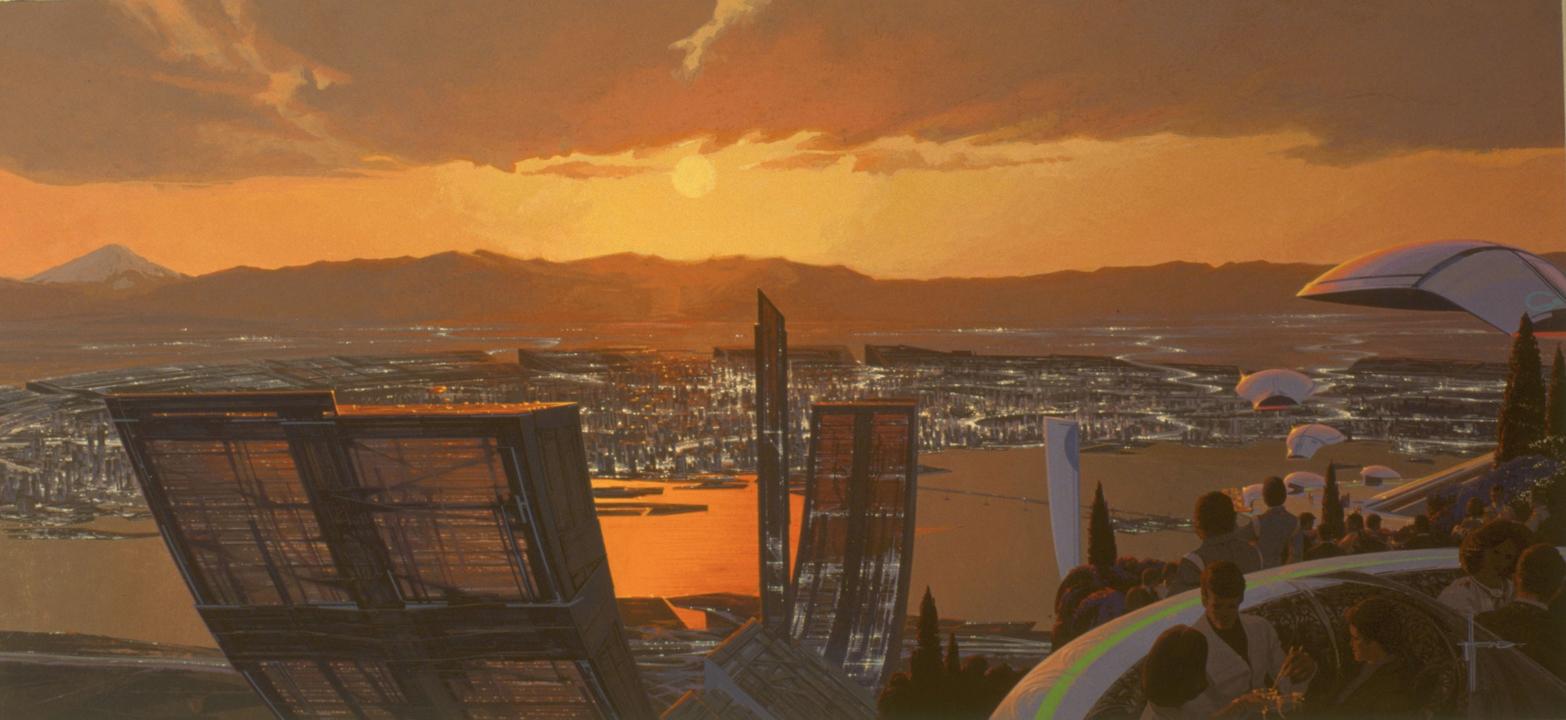 TOKYO 2040 (C)Syd Mead Inc.