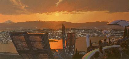 『シド・ミード展 PROGRESSIONS TYO 2019』多数の世界初公開を含む150点の原画展開催!『∀ガンダム』や『ブレードランナー』『エイリアン2』の原画が見れる