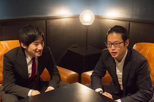 上野耕平(サックス)、反田恭平(ピアノ) (撮影=岡崎雄昌)