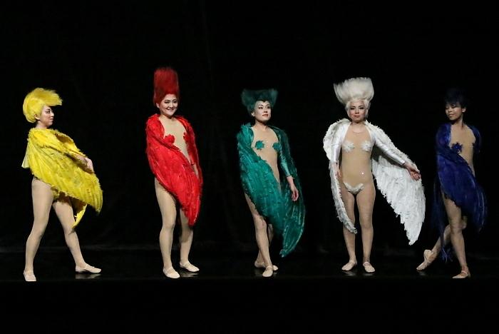 新国立劇場オペラ『ジークフリート』ゲネプロより 森の小鳥