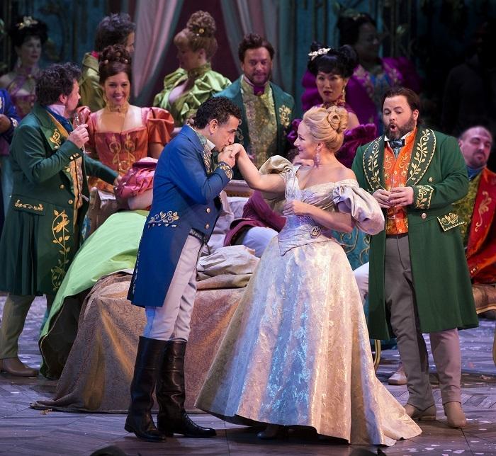 椿姫(c)Marty Sohl/Metropolitan Opera
