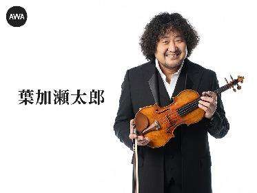 葉加瀬太郎の人気曲を詰め込んだプレイリスト『葉加瀬太郎のCLASSICS』が公開 オフィシャルグッズが当たるプレゼントキャンペーンも開催