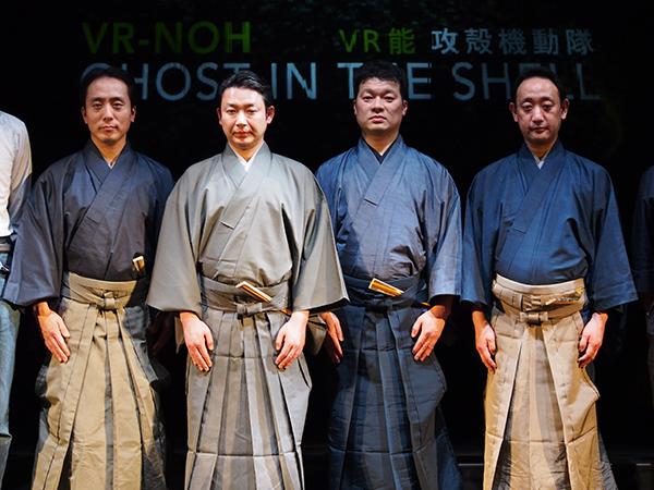 左から大島輝久、坂口貴信、川口晃平、谷本健吾
