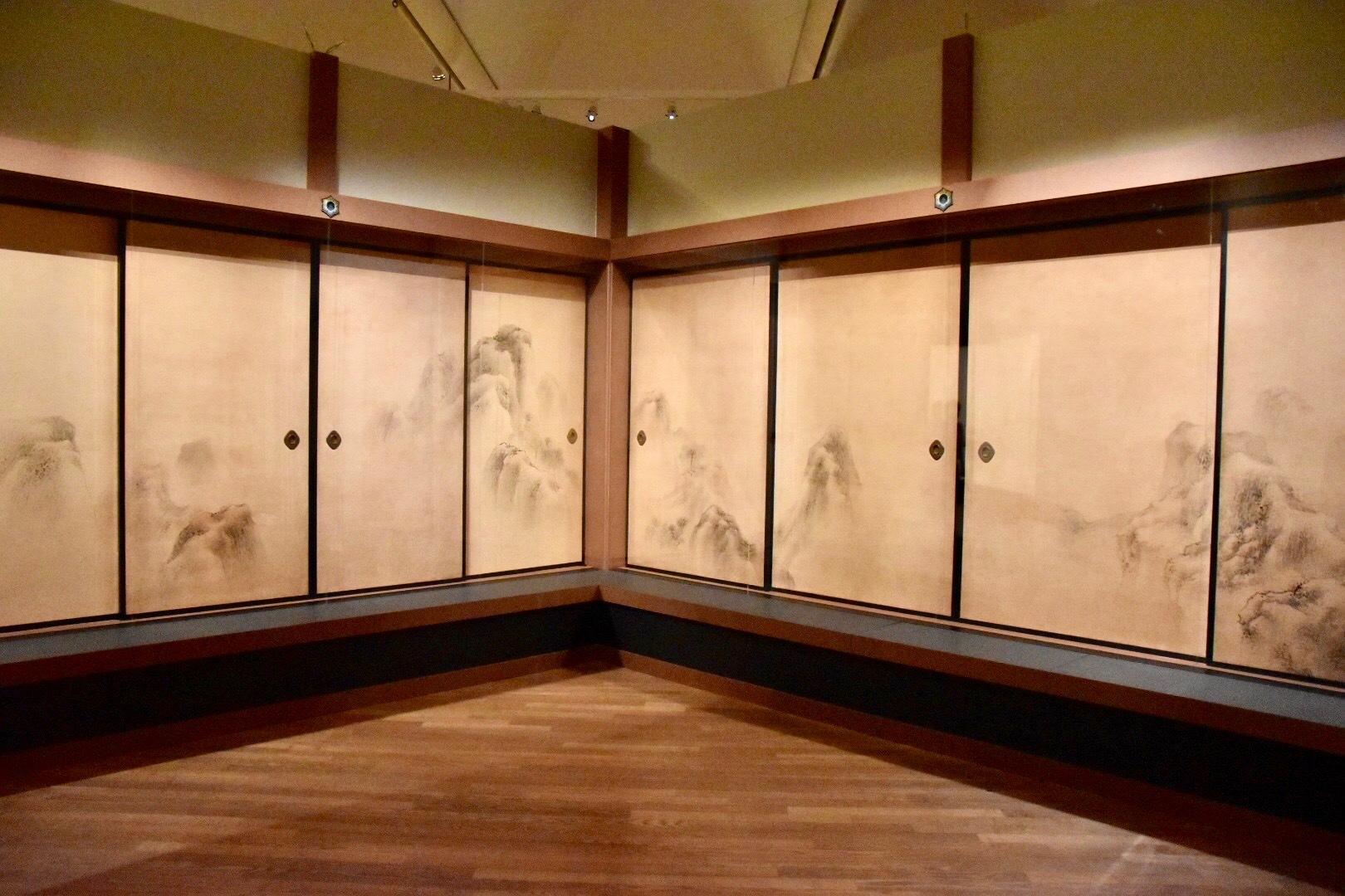 呉春 重要文化財《群山露頂図》 天明7年(1787) 大乗寺蔵 東京展:前期展示