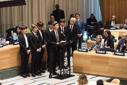 BTS、国連定期総会の演説に登壇「自分自身を愛していると堂々と言って」
