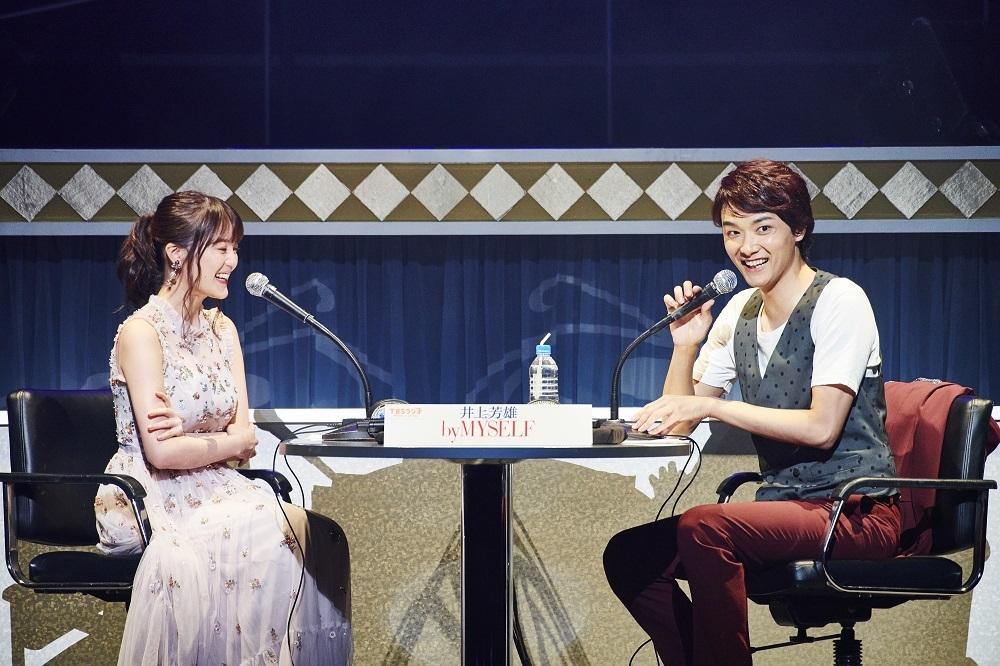 (左から)生田絵梨花、井上芳雄