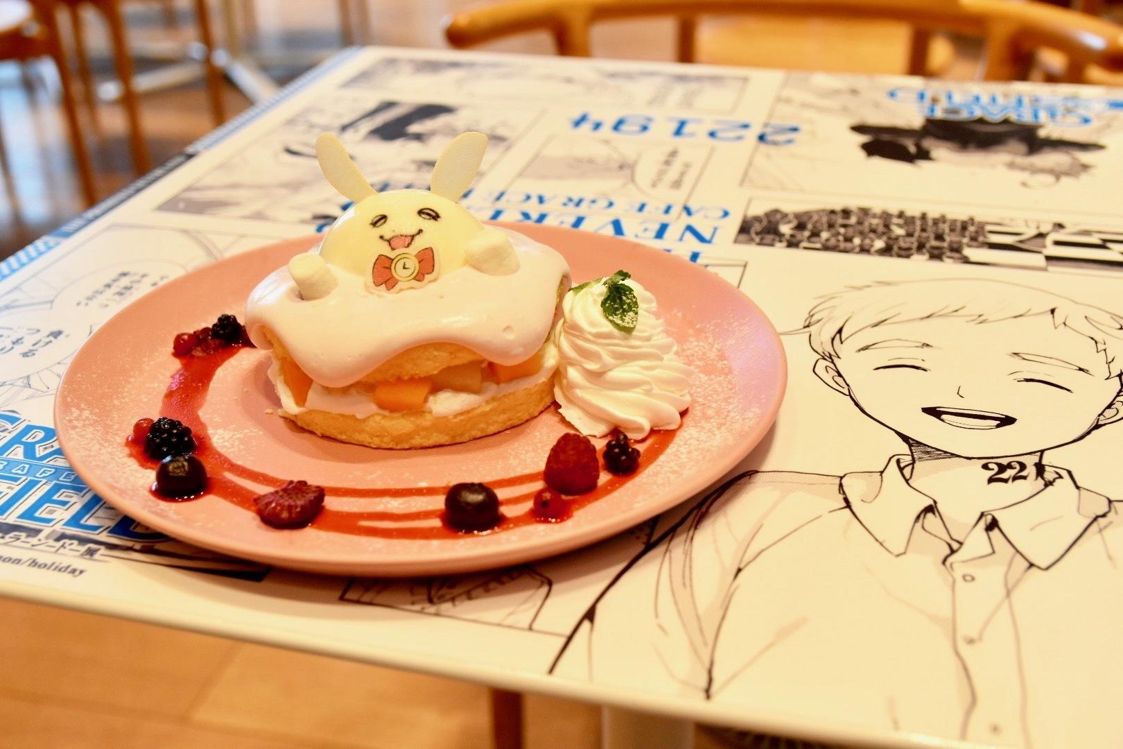 リトルバーニーショートケーキ(1,350円) (C)白井カイウ・出水ぽすか/集英社