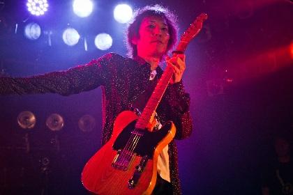 村越弘明 ウエノコウジ、中村達也らをメンバーに迎えたバンドでマイナビBLITZ赤坂2daysライブ開催