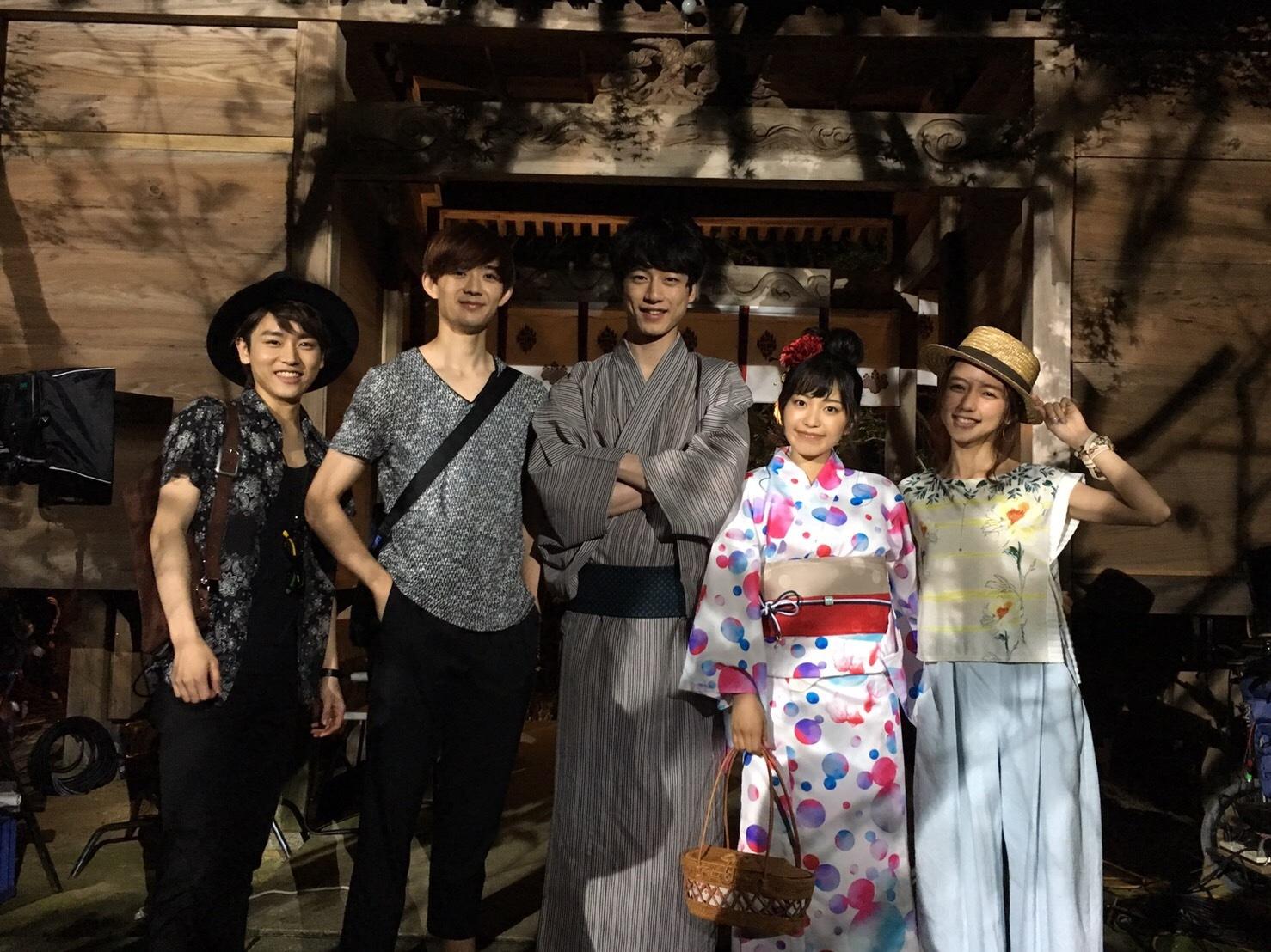 左から、泉澤祐希、竜星涼、坂口健太郎、miwa、真野恵里菜