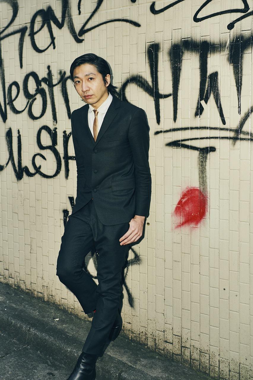 THE BAWDIES/JIM(Yoshihiko Kimura): G,Cho 撮影=大橋祐希