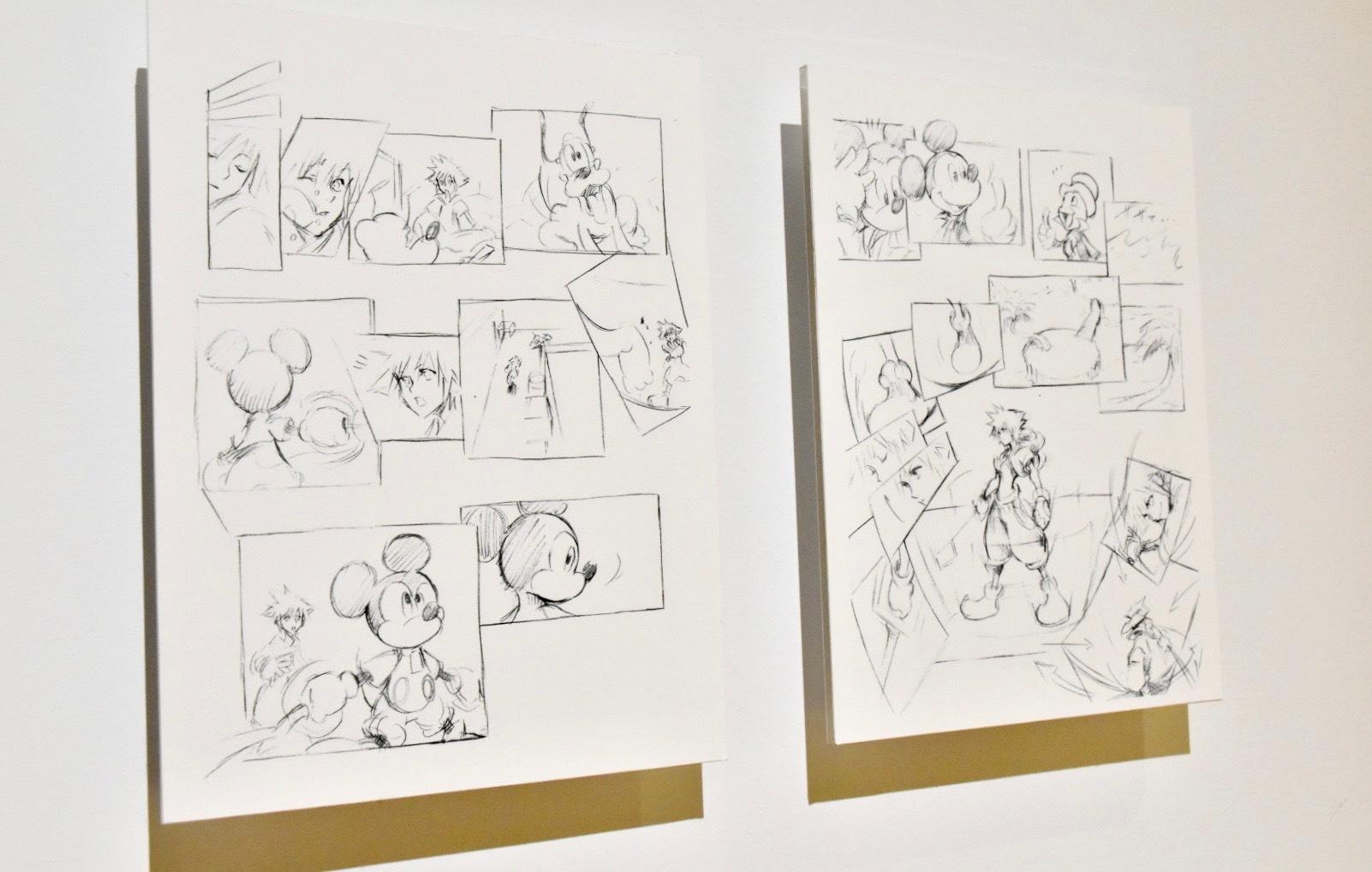 Tetsuya Nomura《Sketches from KINGDOM HEARTS Re:coded》 (C)Disney