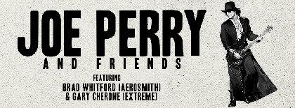 ジョー・ペリーのソロ来日公演にブラッド・ウィットフォード(エアロスミス)の参加が急遽決定 エアロスミスの楽曲も披露