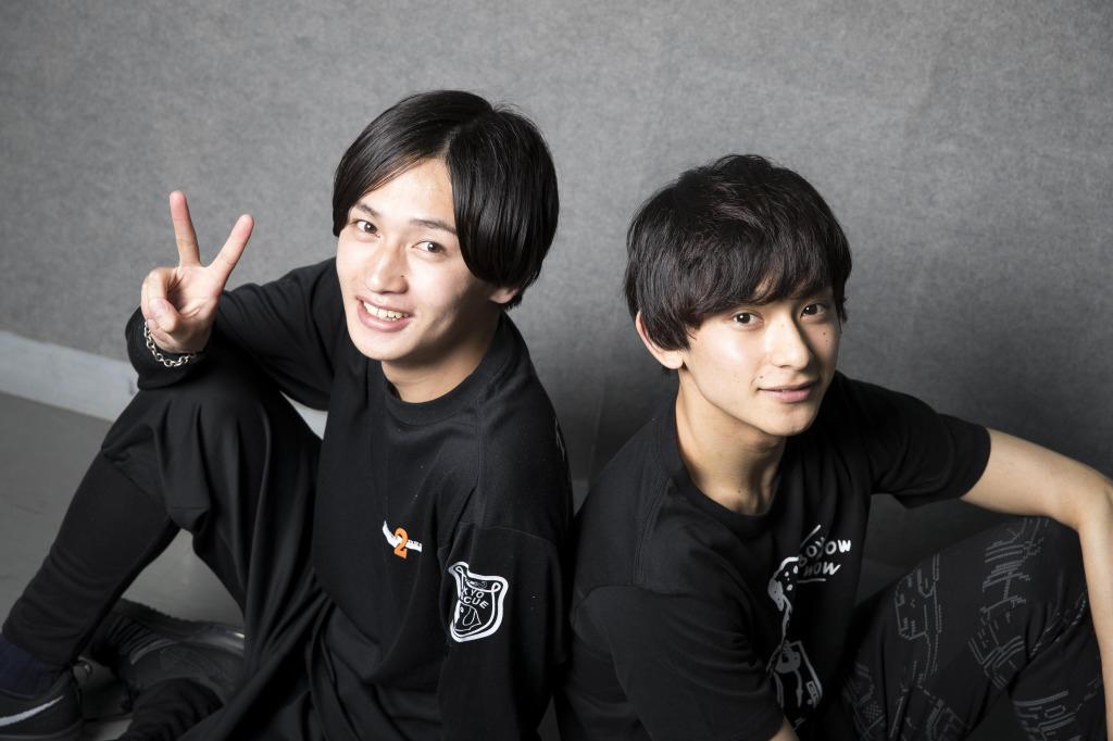 (左から)八神太一役:松本岳、石田ヤマト役:橋本祥平